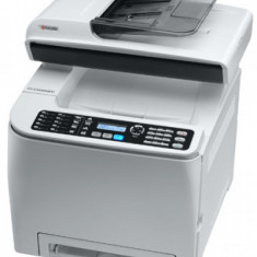 Multifuntionala KYOCERA FS-C1020MFP, 20 PPM, USB, RJ-45, 600 x 600 DPI, Color - Multifunctionala