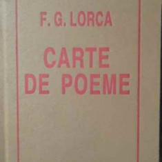Carte De Poeme - F.g. Lorca, 387374 - Carte poezie