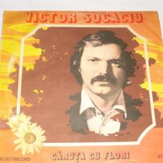 Disc Vinil - Victor Socaciu - Caruta cu flori - Muzica Folk