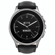 Vand Ceas Smartwatch Vector Luna Argintiu L110, Aluminiu, watchOS