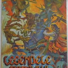 LEGENDELE RARAULUI de GEORGE BODEA, 1981 - Carte de povesti