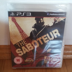 PS3 The Saboteur Sigilat - joc original by WADDER - Jocuri PS3 Electronic Arts, Actiune, 16+, Single player