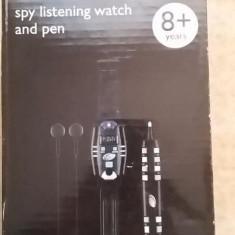 Joc cu ceas si stilou pentru spionare - Jocuri Stiinte