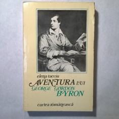 Elena Tacciu - Aventura lui George Gordon Byron