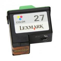 Lexmark 27 / 10N0227 (col), cartus compatibil 275 pagini - Cartus imprimanta