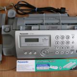 Fax/telefon/copiator Panasonic KX-FP207, impecabil + pachet role-film originale