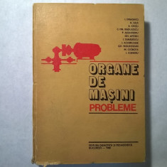 I. Draghici, s.a. - Organe de masini {probleme}