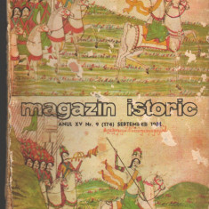 (C7134) MAGAZIN ISTORIC SEPTEMBRIE 1981 - Revista culturale