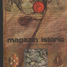(C7125) MAGAZIN ISTORIC AUGUST 1985 - Revista culturale