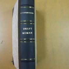 I. C. Catuneanu Curs elementar de drept roman Bucuresti 1924 - Carte Istoria dreptului