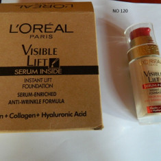 FOND TEN LOREAL VISIBLE LIFT -30 ML ---SUPER PRET, SUPER CALITATE! 120 - Fond de ten L'oreal Paris