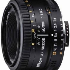Obiectiv Nikon 50/F1.8 AF-D - Obiectiv DSLR