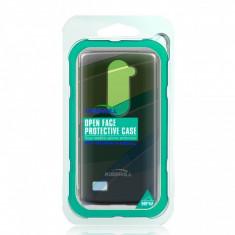 Husa silicon TPU LG Leon Kisswill gri Blister Originala - Husa Tableta