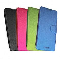 Husa ALLVIEW P5 QUAD Flip Case Verde - Husa Telefon Allview, Piele Ecologica, Cu clapeta, Toc