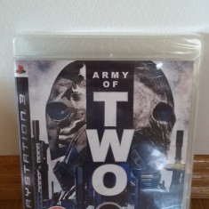 PS3 Army of two Sigilat - joc original by WADDER - Jocuri PS3 Electronic Arts, Shooting, 18+, Multiplayer