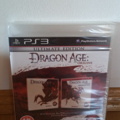PS3 Dragon Age origins Ultimate edition Sigilat - joc original by WADDER - Jocuri PS3 Electronic Arts, Role playing, 18+, Single player