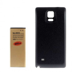 Acumulator De Putere Samsung Galaxy Note 4 N910 Cu Capac Baterie Spate Negru