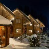 Blumfeldt ICICLE 160-WW LED-uri, lumini de Crăciun, țurțuri, 8 m, 160 de lumini LED-uri, culoare albă caldă