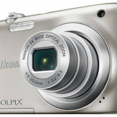 Aparat foto Nikon Coolpix A100, argintiu [ VNA970E1 ] - Aparat Foto compact Nikon