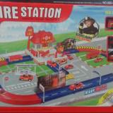 Statie pompieri cu 3 masinute, 40 pcs - Jocuri Seturi constructie