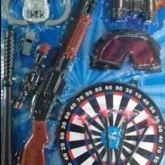 Set arme 4 Police - Pistol de jucarie