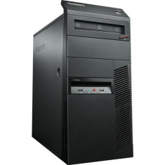 Calculator LENOVO M90p Tower, Intel Core i5-650 3.2 GHz, 4GB DDR3, 320GB SATA, DVD-RW - Sisteme desktop cu monitor