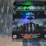 Film - X-Men - Cerebro Collection [7 Filme - 7 Discuri Blu-Ray 2D + 1 Disc 3D] - Film SF Altele, Engleza