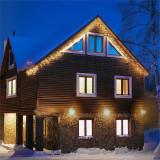 Blum Feldt Forsthaus lumini de Crăciun 8 m 160 LED-uri Flash Motion albe calde - Instalatie electrica Craciun