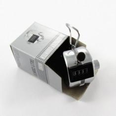 Contor de mana - numarator mecanic – clicker - din metal - NOU