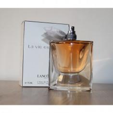 Parfum LANCOME LA VIE EST BELLE tester - Parfum femeie Lancome, Apa de parfum, 75 ml