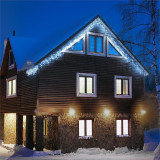 Blum Feldt Forsthaus lumini de Crăciun 8 m 160 LED-uri Flash Motion albe reci - Instalatie electrica Craciun