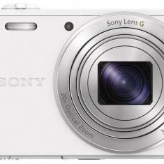 Aparat foto compact SONY DSC-WX350, alb