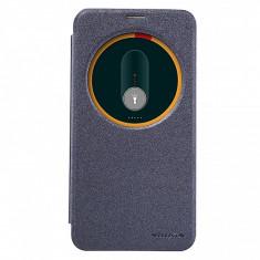 Husa piele Asus Zenfone 2 ZE551ML Nillkin Sparkle Blister Originala - Husa Telefon