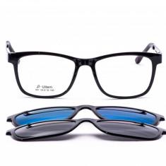 Rame de ochelari de vedere si soare CLIP ON Ultem Memory 301 col2 POLARIZATI