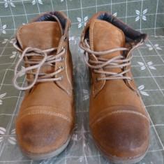 Bocanci barbatesti Vintage Boots Original Brand - Bocanci barbati, Marime: 42 1/3, Culoare: Coniac
