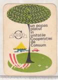 bnk cld Calendar de buzunar 1971 - COOP