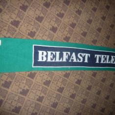 Fular al Suporterilor Echipei Fotbal a Irlandei de Nord, sponsor Belfast Telegr. - Fular fotbal