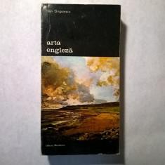 Dan Grigorescu – Arta engleza