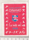 bnk cld Calendar de buzunar 1986 - Dinamo Bucuresti