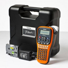 Aparat de etichetare Brother P-Touch PT-E100VP (PTE100VPYJ1) - Imprimanta inkjet