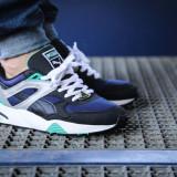 Adidasi Puma Trinomic R698 Herren Sneaker Schuhe 357837 03 nr. 43 - Adidasi barbati Puma, Culoare: Din imagine, Textil