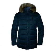 Geaca Barbati Zara Imblanita Model SlimFIt Cod Produs D712, Marime: L, XXL, Culoare: Din imagine, Piele