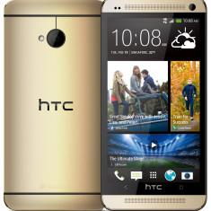 HTC ONE M7 Culoarea GOLD(Auriu), Nou la Cutie. - Telefon mobil HTC One, 32GB, Neblocat, Single SIM