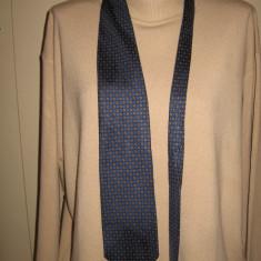 Cravata Angelique.L Paris matase naturala, Culoare: Bleumarin