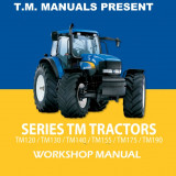 New Holland Series TM Tractor - Service Manual - Manual auto