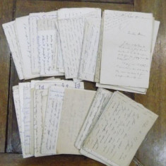 Lot scrisori in limba franceza 1903 - 1919