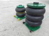 Cric pneumatic perna pneumatica cu trei pliuri 5 tone