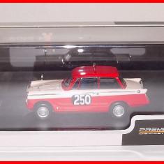 1960 - TRIUMPH HERALD Saloon - Rally Monte Carlo (scara 1/43) PREMIUM X - Macheta auto