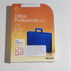 Microsoft Office Professional 2010, Sigilat - Solutii business, DVD