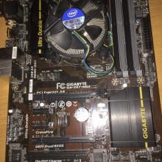 Placa de baza GIGABYTE GA-Z87-HD3 cu procesor Intel Core i5 4570 3.2Ghz, Pentru INTEL, LGA 1150, DDR 3, Contine procesor, ATX